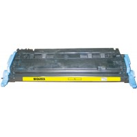 Remanufactured HP Q6002A (HP 124A) yellow laser toner cartridge
