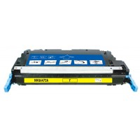 Remanufactured HP Q6472A (HP 502A) yellow laser toner cartridge