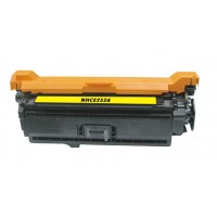 Compatible HP CE252A (HP 504A) yellow laser toner cartridge