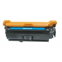 Compatible HP CE261A (HP 647A) cyan laser toner cartridge