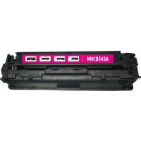 Remanufactured HP CB543A (HP 125A) magenta laser toner cartridge