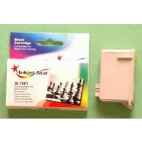 Remanufactured Epson T007201 black inkjet cartridge