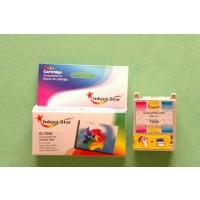 Remanufactured Epson T008201 color inkjet cartridge