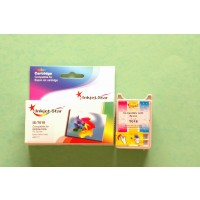 Remanufactured Epson T018201 color inkjet cartridge