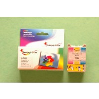 Remanufactured Epson T029201 color ink cartridge