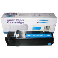 Compatible Dell T107C high yield cyan laser toner cartridge
