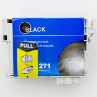 Remanufactured Epson T127120 (T1271) high yield black ink cartridge