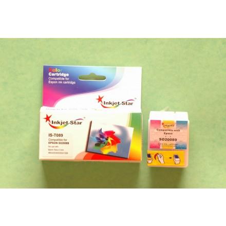 Compatible Epson S020089 color inkjet cartridge