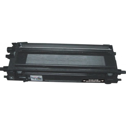 Remanufactured Brother TN115BK high yield black laser toner cartridge