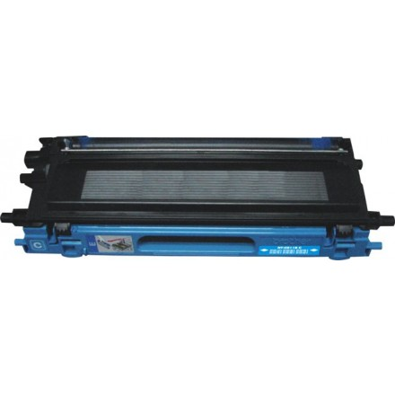 Remanufactured Brother TN115C high yield cyan laser toner cartridge