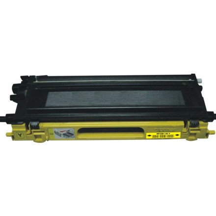 Compatible Brother TN115Y high yield yellow laser toner cartridge