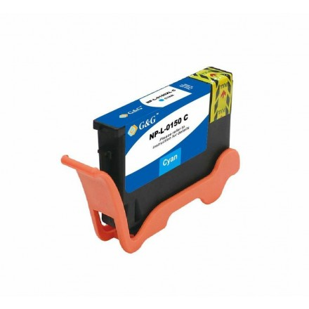 Compatible Lexmark 150XL (14N1615) high yield cyan ink cartridge