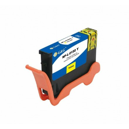 Compatible Lexmark 150XL (14N1618) high yield yellow ink cartridge