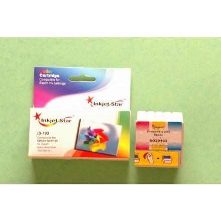 Compatible Epson S020193 color inkjet cartridge