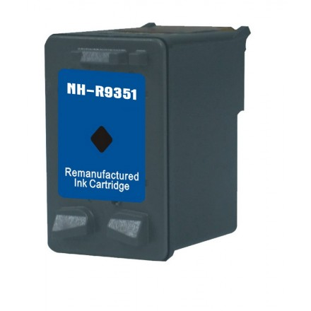 Remanufactured HP C9351A (No. 21) black ink cartridge