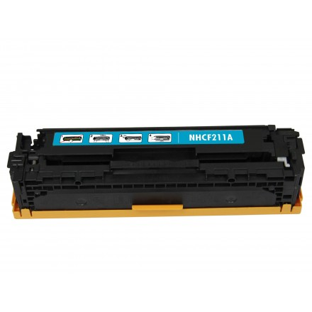 Remanufactured HP CF211A (HP 131A) cyan laser toner cartridge