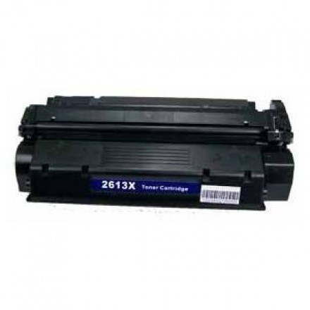 Remanufactured HP Q2613X (HP 13X) high yield black laser toner cartridge