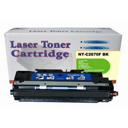 Remanufactured HP Q2670A (HP 308A) black laser toner cartridge