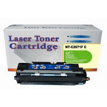 Remanufactured HP Q2671A (HP 308A) cyan laser toner cartridge