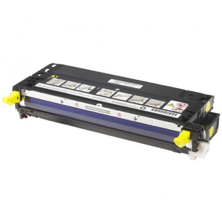 Remanufactured Dell 310-8341 (XG724) high capacity yellow laser toner cartridge