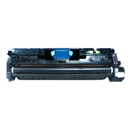 Remanufactured HP Q3960A (HP 122A) black laser toner cartridge
