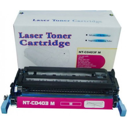 Remanufactured HP CB403A (HP 642A) magenta laser toner cartridge