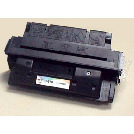Remanufactured HP C4127X (HP 27X) black laser toner cartridge