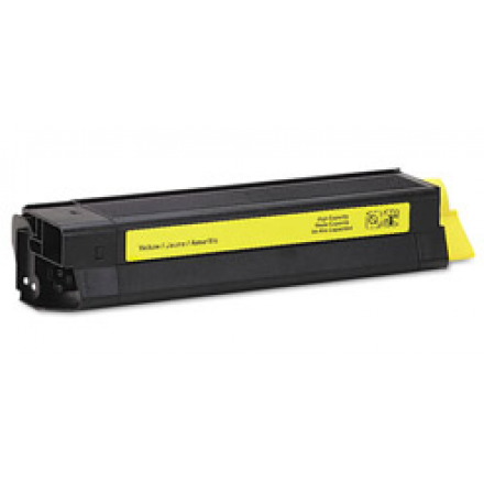 Compatible Okidata 42127401 high yield yellow laser toner cartridge