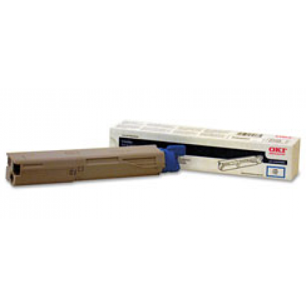 Compatible Okidata 43459303 cyan laser toner cartridge