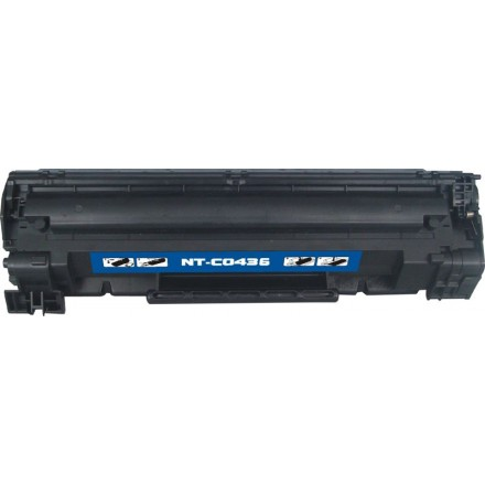 Compatible HP CB436A (HP 36A) black laser toner cartridge