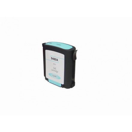 Remanufactured HP C4804A (No. 12) cyan ink cartridge