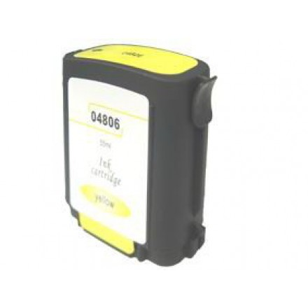 Remanufactured HP C4806A (No. 12) yellow ink cartridge
