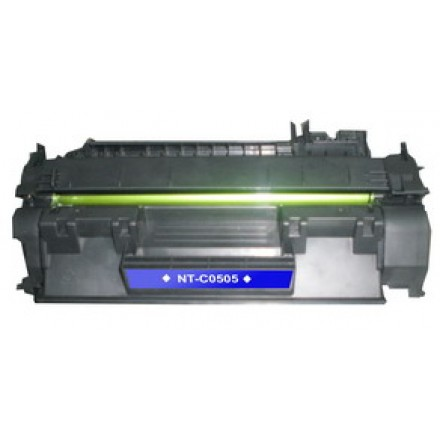 Compatible HP CE505A (HP 05A) black laser toner cartridge