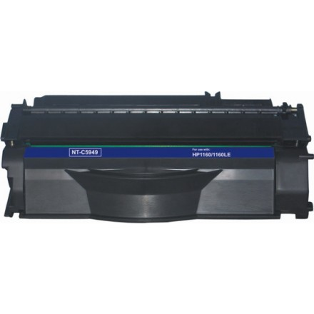 Remanufactured HP Q5949A (HP 49A) black laser toner cartridge