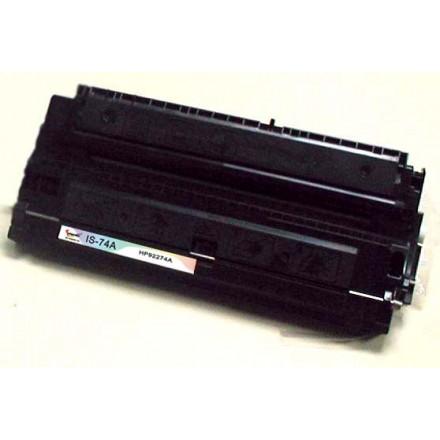 Remanufactured HP 92274A (HP 74A) black laser toner cartridge