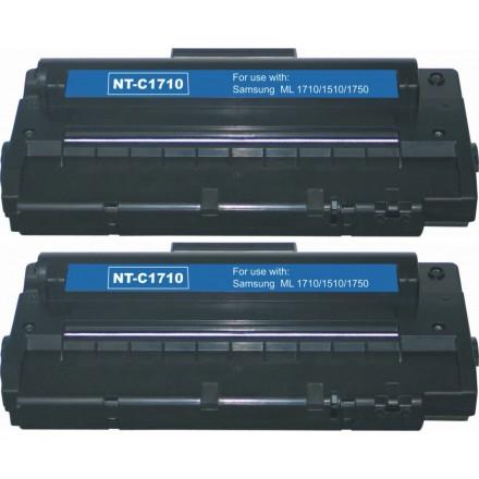 Compatible alternative to Samsung SCX 4216D3 black laser toner cartridge (2 pieces)