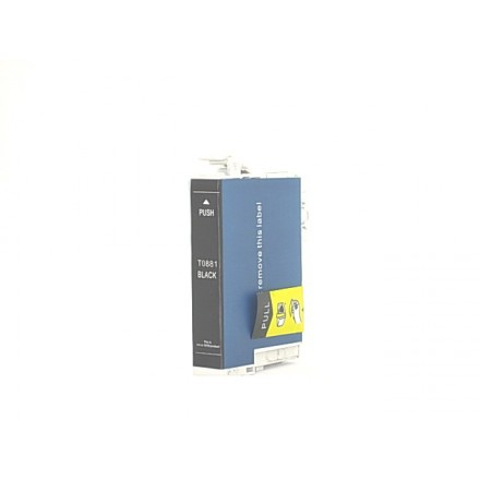 Remanufactured Epson T088120 black ink cartridge