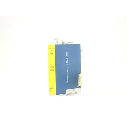 Remanufactured Epson T088420 yellow ink cartridge