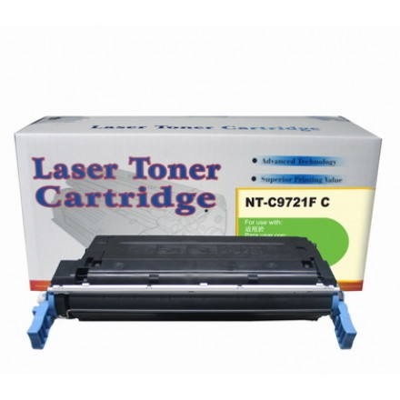 Remanufactured HP C9721A (HP 641A) cyan laser toner cartridge