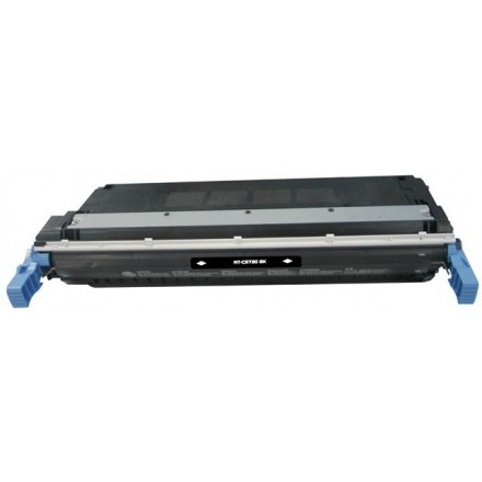 Remanufactured HP C9730A (HP 645A) black laser toner cartridge