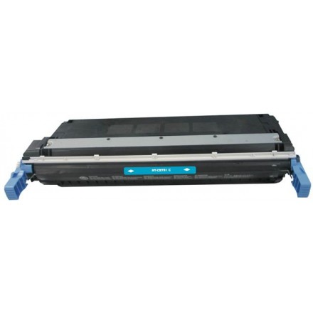 Remanufactured HP C9731A (HP 645A) cyan laser toner cartridge
