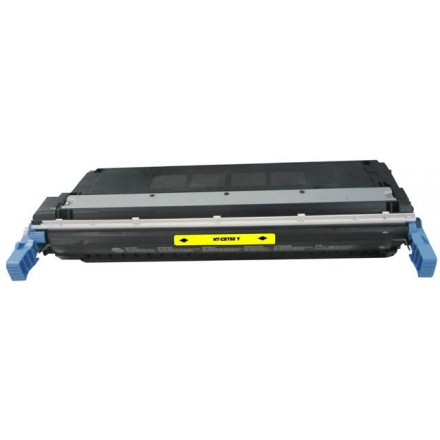 Remanufactured HP C9732A (HP 645A) yellow laser toner cartridge