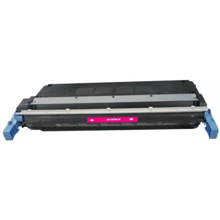 Remanufactured HP C9733A (HP 645A) magenta laser toner cartridge