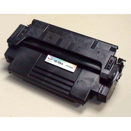 Remanufactured HP 92298A (HP 98A) black laser toner cartridge