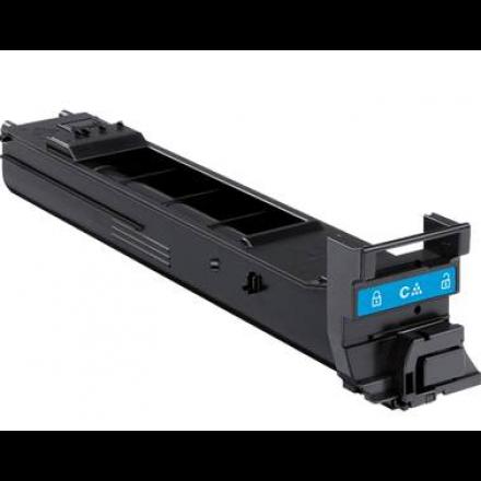 Compatible Konica Minolta A0DK432 cyan laser toner cartridge