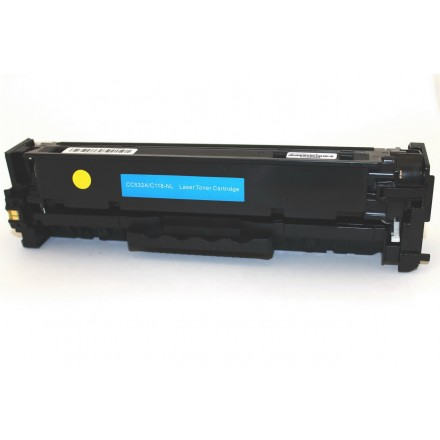 Compatible Canon 118 yellow laser toner cartridge