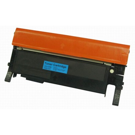 Remanufactured alternative CLT-C406S cyan laser toner cartridge for Samsung CLP-365W and CLP-3305FW