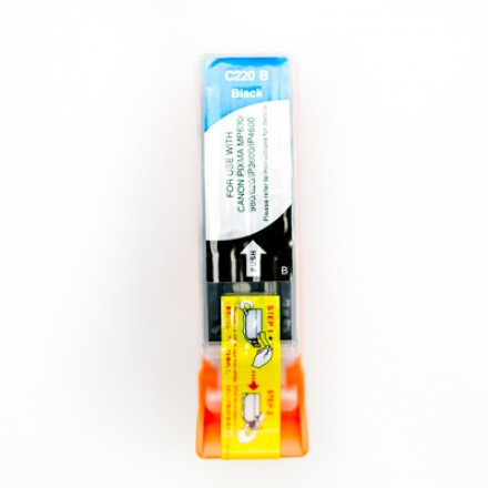 Compatible Canon PGI-220 pigment black inkjet cartridge