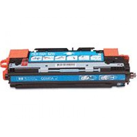 Remanufactured HP Q2681A (HP 311A) cyan laser toner cartridge