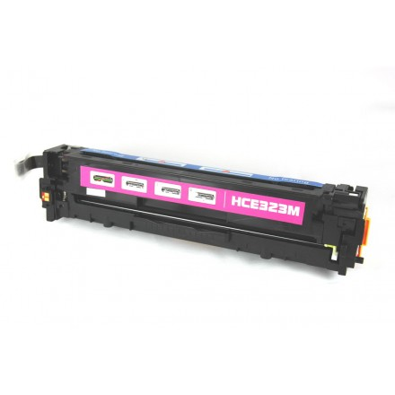 Remanufactured HP CE323A (HP 128A) magenta laser toner cartridge
